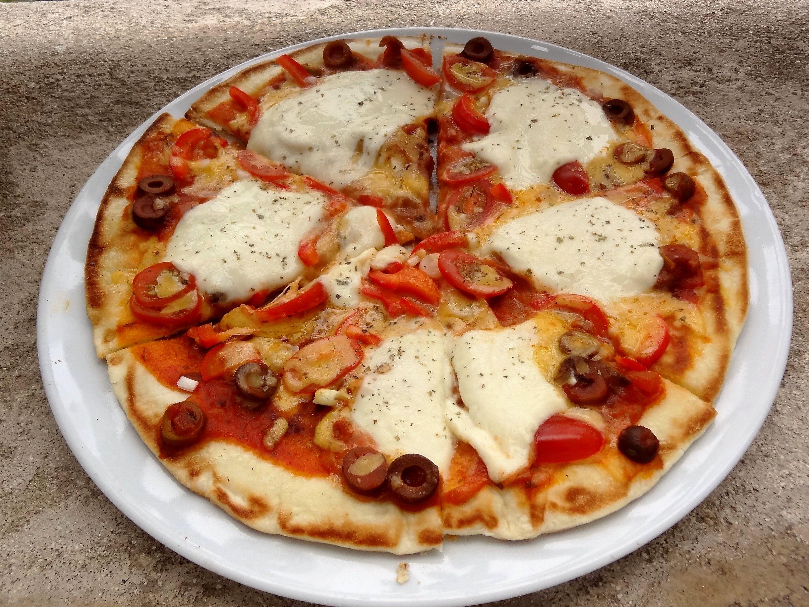 Pizza A La Poele Tres Simple Et Rapide