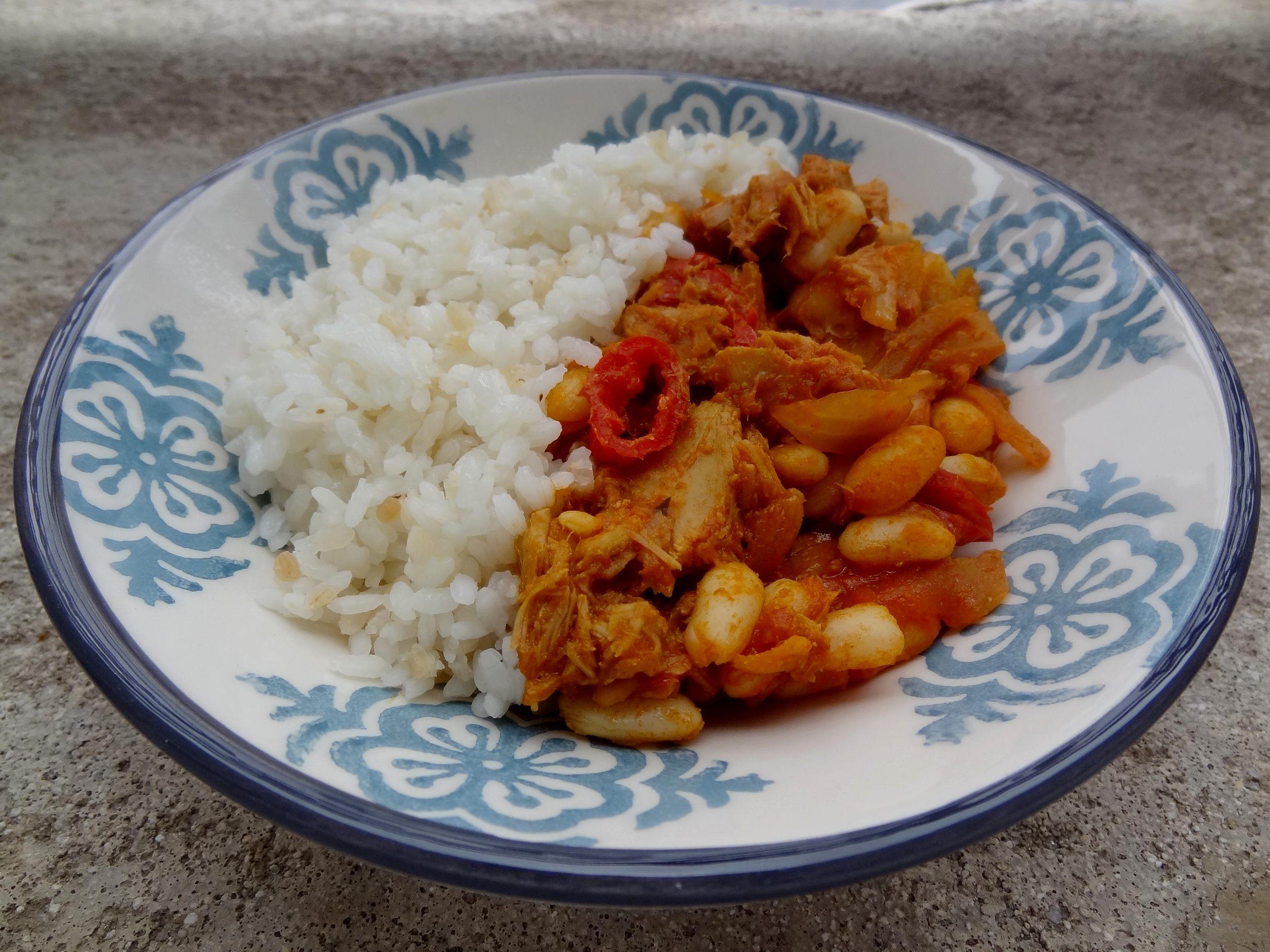 Curry De Thon Aux Haricots Blancs